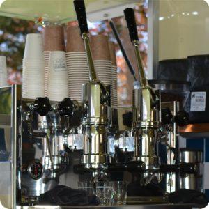 Bosco lever espresso machine