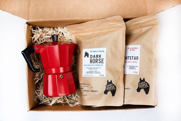 Moka pot coffee gift box